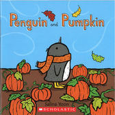 【麥克書店】PENGUIN AND PUMPKIN /英文繪本 《主題:節慶》