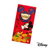 Disney迪士尼系列金飾-黃金元寶紅包袋-福氣旺來款