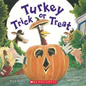 【麥克書店】TURKEY TRICK OR TREAT / 英文繪本《主題:萬聖節》