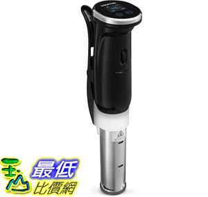 [107美國直購] Gourmia GSV150 WiFi Sous Vide Precision Cooker Immersion Pod, 1200W Powerful