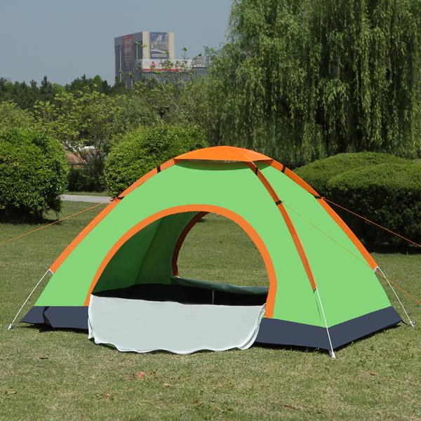 全自動帳篷2人戶外雙人單人帳篷3-4人沙灘防曬防雨自駕游野外露營  NMS 露露日記