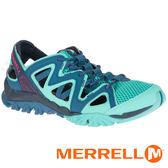 【MERRELL 美國】TETREX CREST WRAP 女水陸三棲鞋『藍綠』12848 機能鞋.多功能鞋.休閒鞋