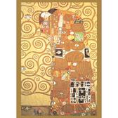 【台製拼圖】夜光-名畫系列 克林姆-擁抱 (520片) HM520-090