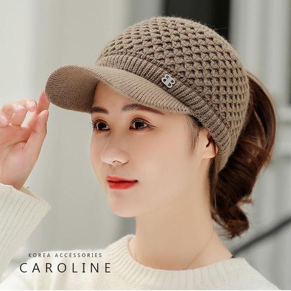 《Caroline》秋冬流行時尚個性網紅百搭韓版戶外運動鴨舌帽 72409