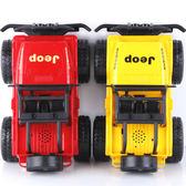 兒童玩具  兒童超大號慣性吉普車玩具抗耐摔仿真越野汽車模型男孩幼兒園禮物 歐萊爾藝術館