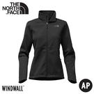 【The North Face 女 APEX RISOR 防風外套《黑》】4NAO/運動外套/防潑水/休閒外套