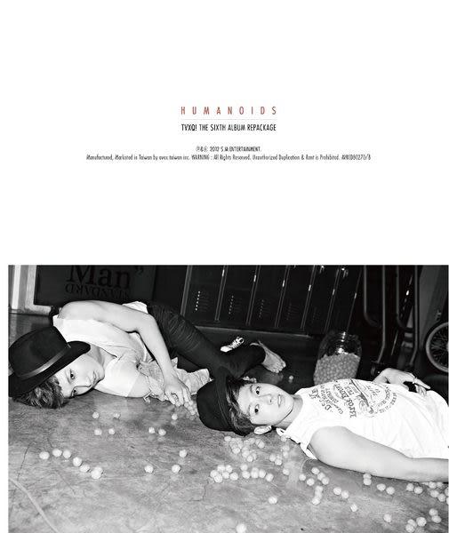 東方神起  HUMANOIDS  CD   (音樂影片購)