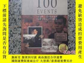 二手書博民逛書店100events罕見shat shaped the philippinesY13255