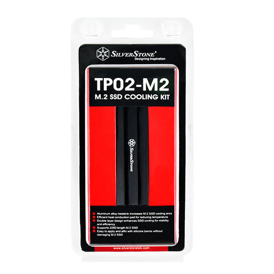銀欣 SST-TP02-M2 M.2 散熱片