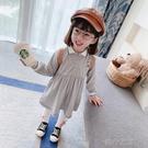 快速出貨 女童洋裝童裝女裝洋裝寶寶裙子洋氣兒童小女孩公主裙女童款