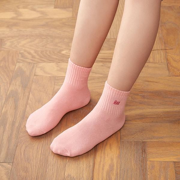 【8:AT 】運動短襪(粉彩粉)(未滿3件恕無法出貨,退貨需整筆退)