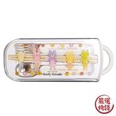 【日本製】【Rub a dub dub】兒童餐具三件組 白色(一組:2個) SD-9190 - Rubadubdub