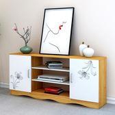 簡易電視柜現代簡約客廳臥室電視機柜迷你小戶型收納地柜 儲物柜【米拉生活館】JY