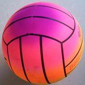 彩虹排球 兒童學生玩具環保充氣排球 氣排球 沙灘排球   初見居家