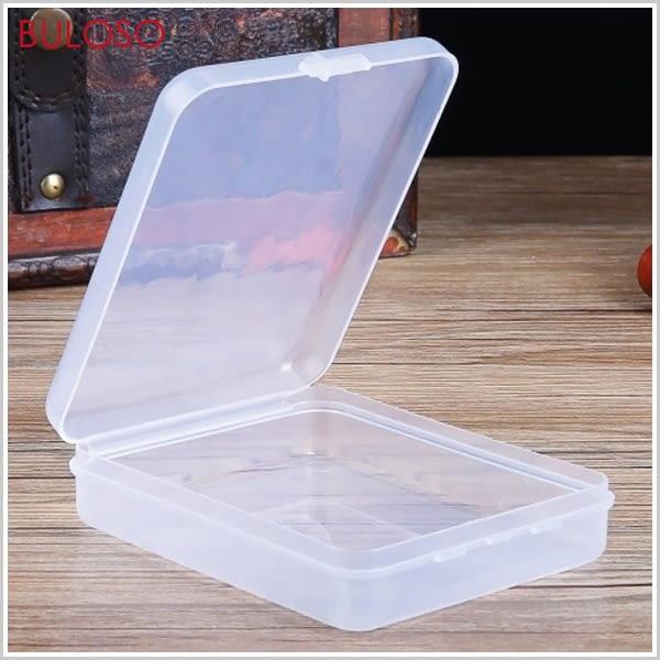 《不囉唆》簡約方形透明收納盒 塑膠盒/小物盒/收納盒(不挑色/款)【A428247】