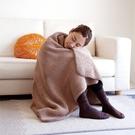 【ALPHAX】日本進口 GOKUDAN極暖輕量雙面毯 一入 懶人毯 保暖毯 毯子