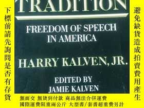 二手書博民逛書店A罕見Worthy Tradition:Freedom of Speech in America ( 英文原版 )