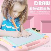 兒童畫畫板磁性寫字板寶寶1-3歲2磁力玩具嬰幼兒彩色超大號涂鴉板
