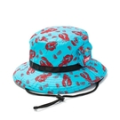 CHUMS Lightning Mountain Hat 休閒帽 藍綠/龍蝦 CH051156Z167【GO WILD】