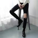 韓國 男破壞壞牛仔褲 訂做款式  窄版  男 褲子