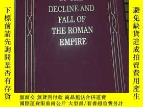 二手書博民逛書店The罕見History of the Decline and