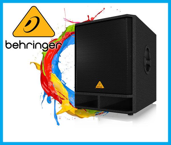 【小麥老師樂器館】Behringer 耳朵牌 Passive speaker VP1800S 被動式喇叭 喇叭
