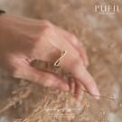 限量現貨◆PUFII-戒指 質感珍珠水鑽無限戒指-0910 現+預 秋【CP19127】