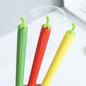 ◄ 生活家精品 ►【P131】創意辣椒0.5mm中性筆 文具 學生 辦公用品 韓國 可愛 水性筆