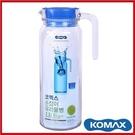 (特價出清)KOMAX 玻璃冷水壺 1100ml 20467【AE02610】i-style居家生活