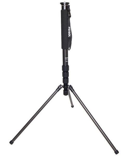 晶豪泰 FEISOL CM-1473 Rapid 大型混合式碳纖維單腳架 (37mm) - 可當閃燈架
