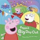 Peppa Pig:Peppa's Big Day Out 佩佩豬的遊玩日 精裝硬頁故事書