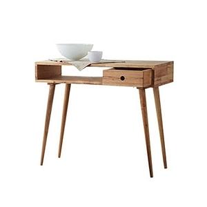 實木簡約日式高腳組合邊桌90cm 高(90x40x78)