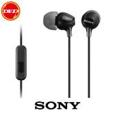(0利率)SONY MDR-EX15AP (黑色)  智慧型手機專用 全面支援 Android™、iPhone、Blackberry