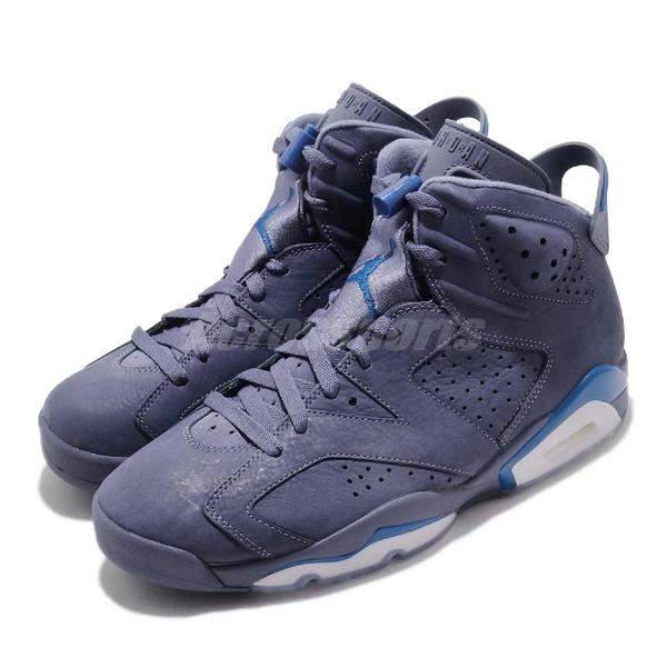 Nike Air Jordan 6 Retro Jimmy Butler X 藍 深藍 男鞋 喬丹 6代【PUMP306】 384664-400