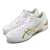 Asics 籃球鞋 Gelburst 23 Low 男鞋 白 金 低筒 穩定 亞瑟士【ACS】 1061A021100
