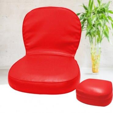 【KOTAS】艾尼兒手提皮面漢堡和室椅-紅