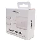 【免運費】【原廠盒裝】Samsung 原廠25W快充組(旅充頭+Type C 傳輸線) EP-TA800【白】