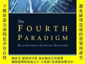 """二手書博民逛書店【英文原版】微軟的""""第四範式""""罕見The Fourth Paradigm( data intensive scie"""