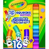 玩具反斗城 【Crayola 繪兒樂】 16色可水洗短桿彩色筆