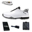 高爾夫球鞋 男士防水運動鞋 緩震中底防側滑鞋 GSH108WGRY