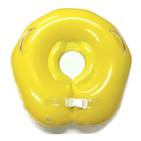 台灣曼波 圓型嬰兒游泳脖圈 泳圈(水晶貝殼款)兩色可選