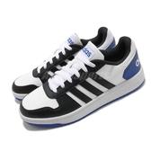 【海外限定】adidas 休閒鞋 Hoops 2.0 黑 藍 白 男鞋 基本款 運動鞋 【ACS】 FW5994