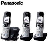 Panasonic 國際牌 KX-TG6813 繁體中文數位3手機無線電話 黑