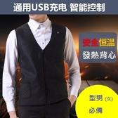 【簡約 * 時尚】電熱背心*三段式加熱 * 寒流必備-使用USB行動電源超方便-k2
