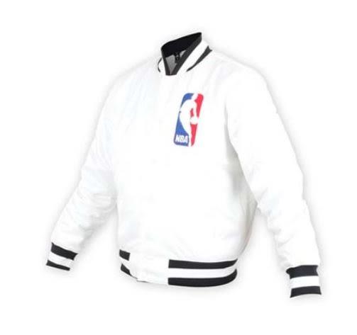 NIKE服飾系列AS M NK SBXNBA JACKET-男款NBA白色棒球風衣外套-NO.AH3393100