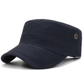 帽子男韓版潮遮陽帽戶外平頂帽男春夏軍帽太陽帽鴨舌帽女夏棒球帽