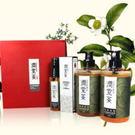 《茶寶》金萃頂級植潤禮盒組-洗髮/沐浴/護髮素◇特惠組合◇