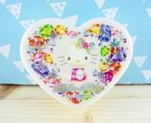 【震撼  】Hello Kitty 凱蒂貓KITTY 心形飾品盒寶石圖案L