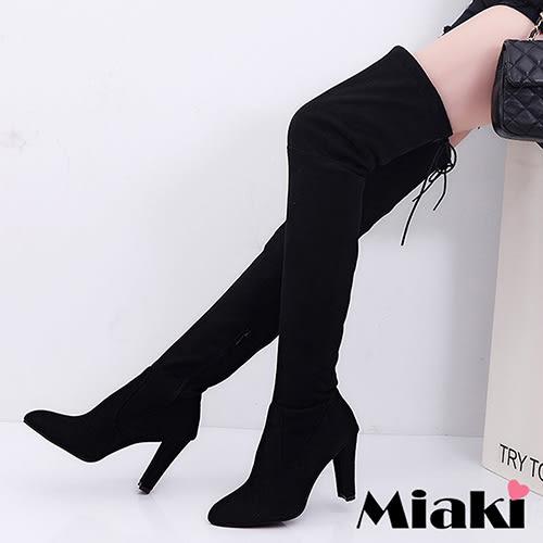 長靴韓國熱銷高跟過膝高筒靴