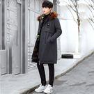 經典流行韓式風格色雙面造型大衣外套